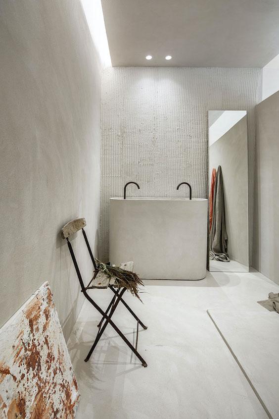 Casa Decor 2021 #bathroom #estudioquerencia #microcemento