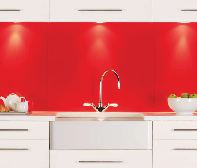 metallic kitchen wall tiles how to refinish sink glass splashback