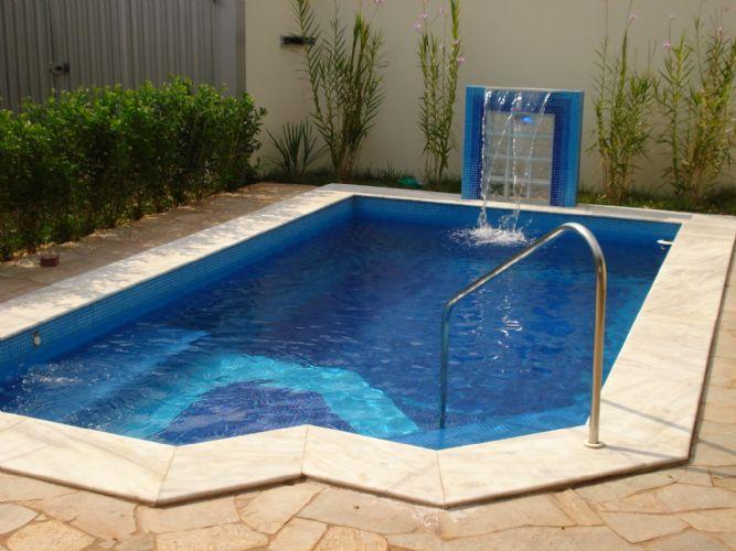 Fotos e modelos de piscinas de alvenaria  Decorando Casas