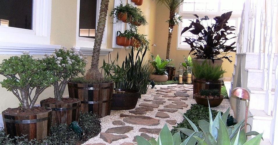 Tipos de pedriscos para jardim  Preo  Decorando Casas