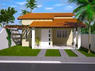 casas telhados simples pequenas compartilhe