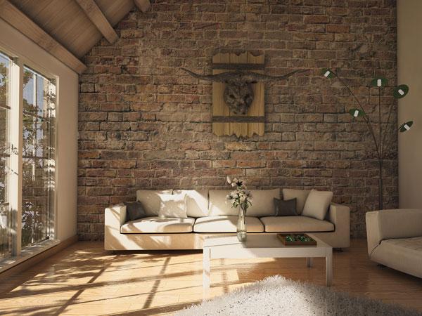 Texturas para paredes de sala moderna  Decorando Casas