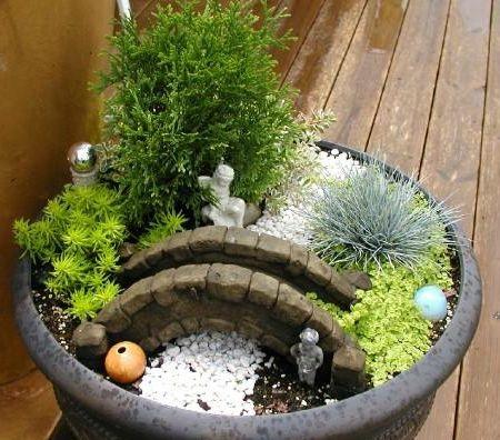 Como fazer um mini jardim  Decorando Casas