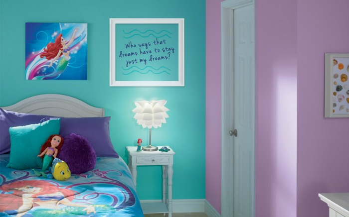 Turquoise Wallpaper For Girls Bedroom Decora 231 227 O De Quarto De Menina No Estilo Sereia Decorando