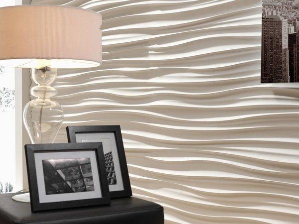 Revestimento 3D para paredes da cozinha sala e banheiro  Decorando Casas