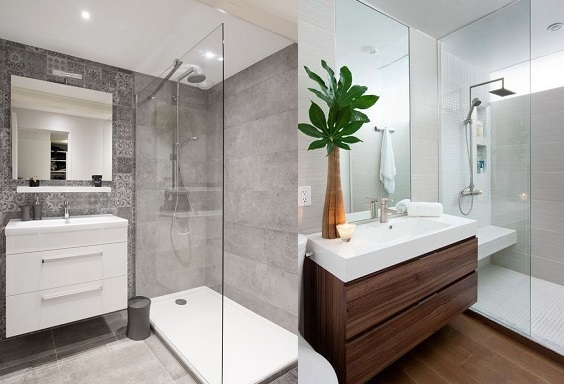 Tendncias para banheiros pequenos 2018  Decorando Casas