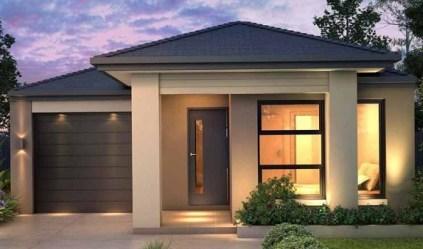 pequenas casas modernas fachadas rumah desain minimalis impian compartilhe bisa denah disimpan dari