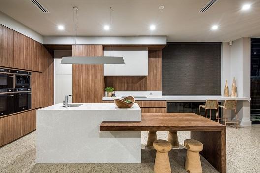 Cozinhas modernas com bancada 2019  Decorando Casas
