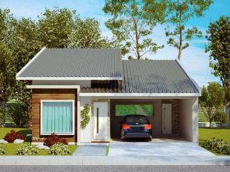Casas Simples Com Varanda
