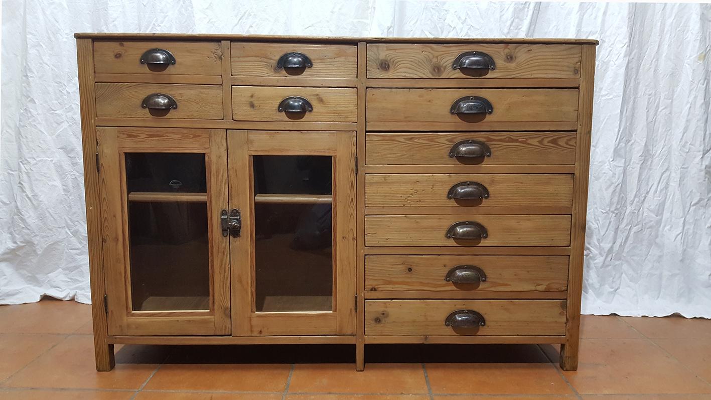 mueble rstico de cajones tipo industrial antiguedades