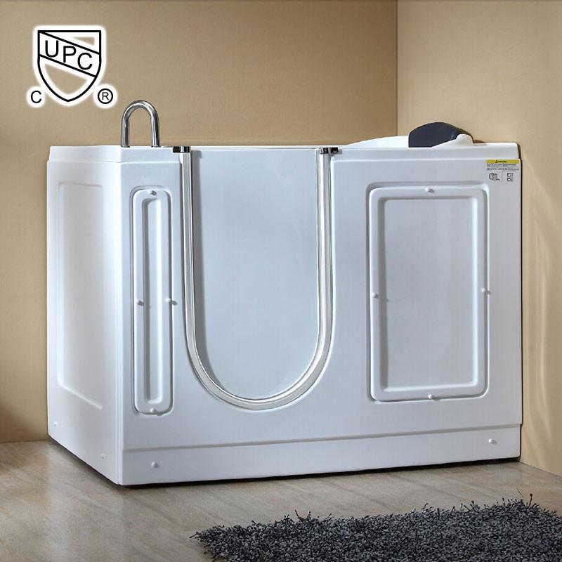 51 x 30 po balno baignoire avec porte acrylique blanche - Baignoire Balneo Bricoman