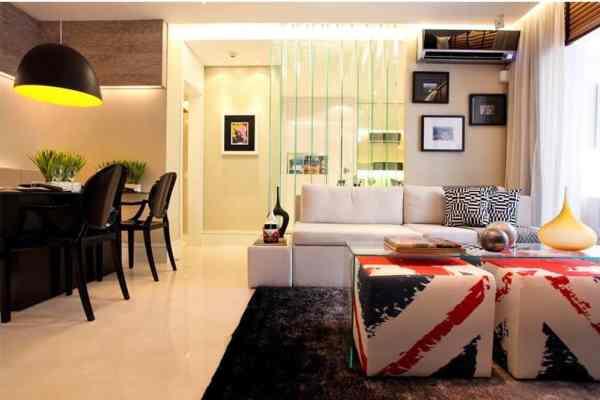 Decoraç u00e3o de Apartamento Pequeno 7 Soluções Práticas e Eficientes Decorar Com Charme # Decoração De Apartamento Simples E Bonito