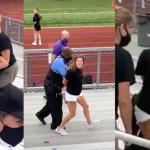 Mãe é presa e recebe choque após não usar máscara no jogo de futebol do filho