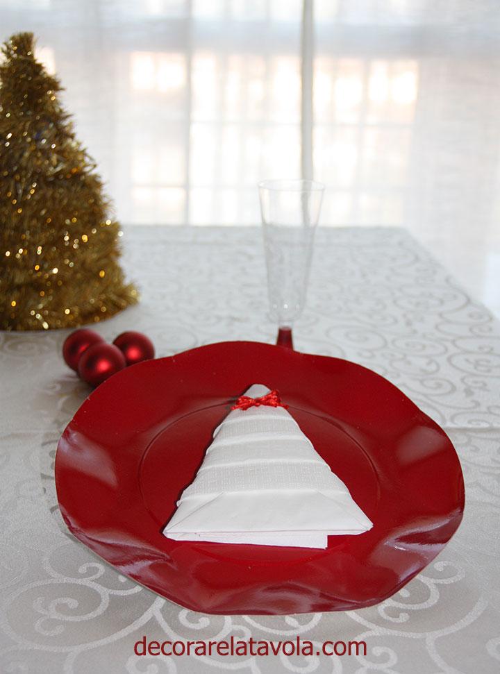 Tutorial Piegare Tovaglioli Ad Albero Di Natale Decorare