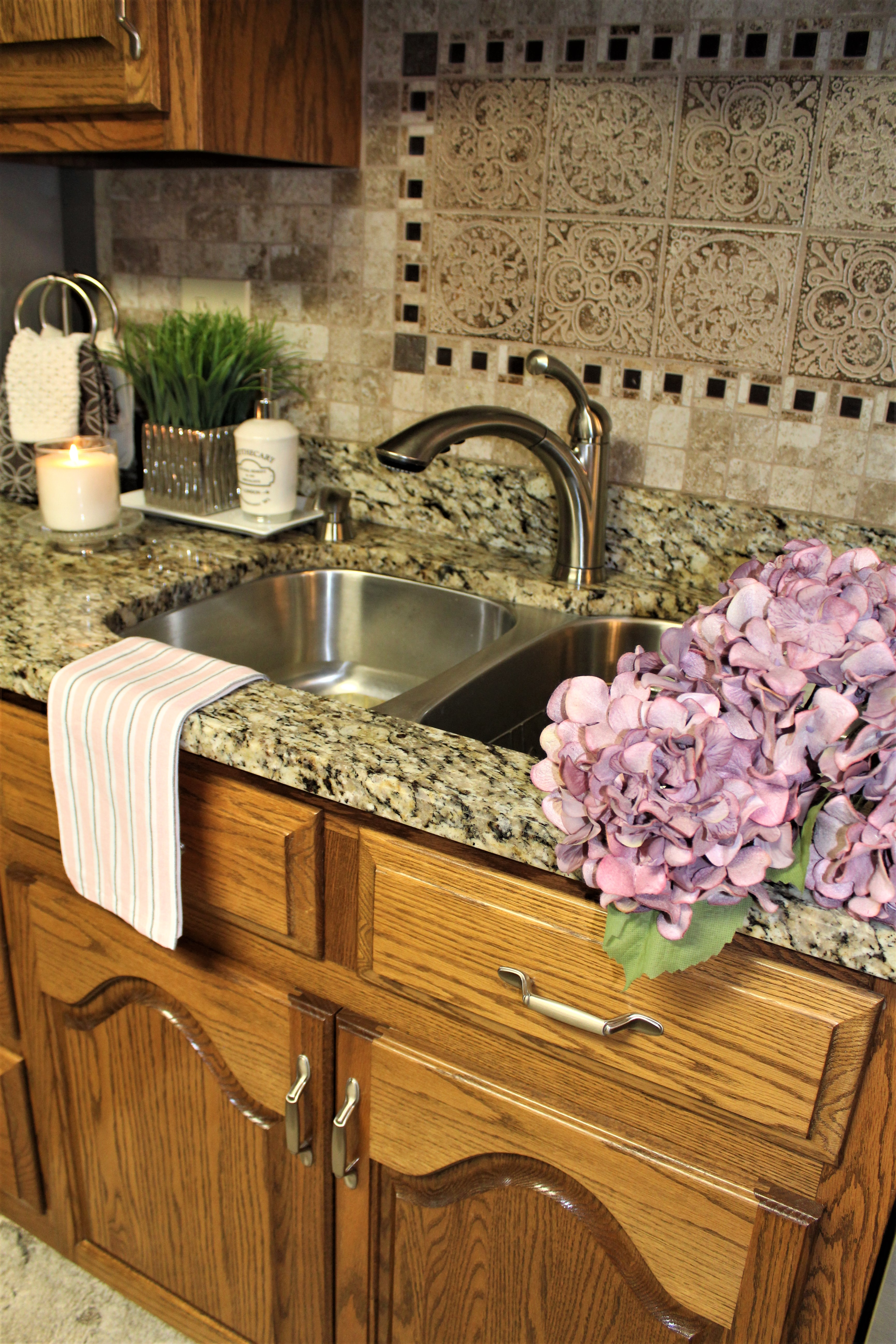 HOW I ORGANIZED UNDER MY KITCHEN SINK – Decorate & More with Tip