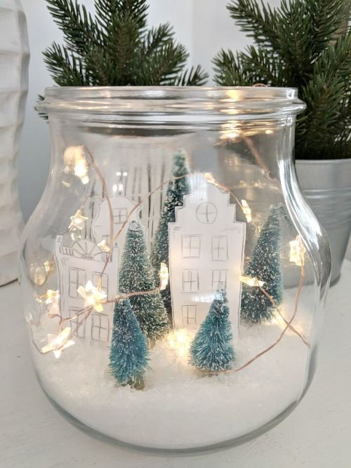 3 Ways To Decorate An Apothecary Jar For Christmas Decorate More With Tip