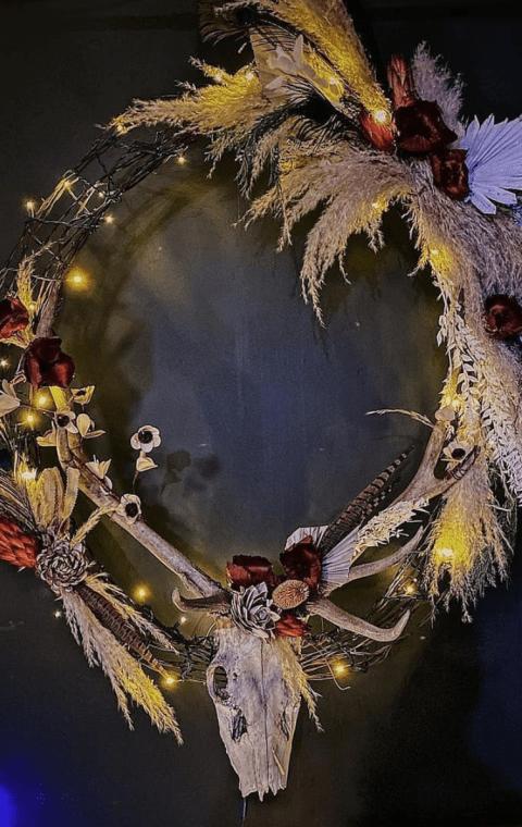 Elk Wreath