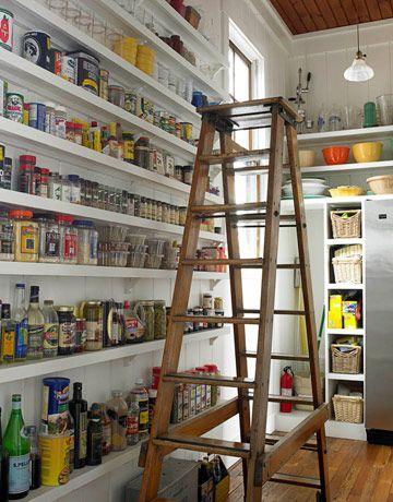 thin pantry shelves