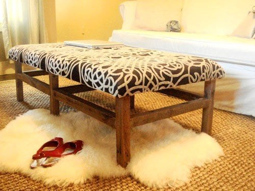 How To Make an Ottoman Round Square Tufted Storage Decorated Life