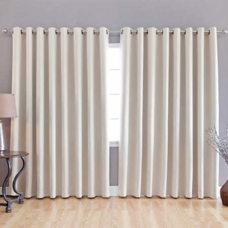 grommet block out curtains