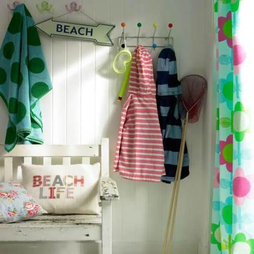 beach decor hallway