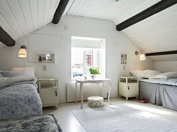 decorating attic bedrooms Attic Bedroom - How to Decorate Attic Bedrooms -Decorated Life