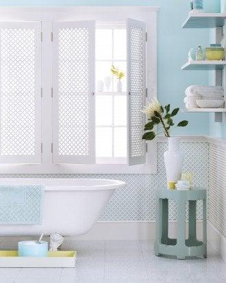 blue bathroom by simon watson