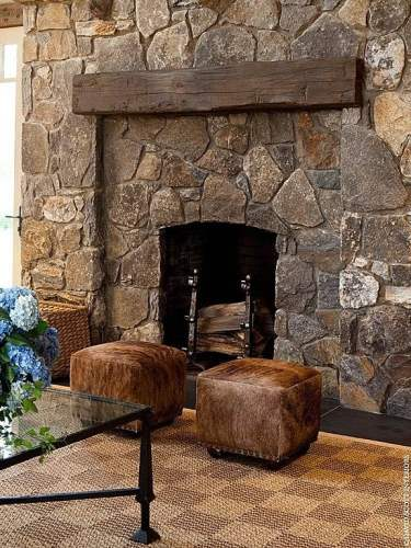 fireplace as a focal point