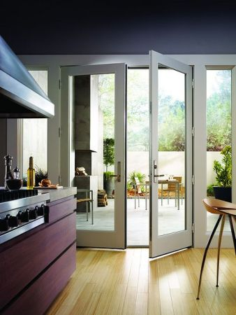 classic swinging patio doors
