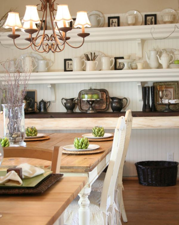 Decorating Large Dining Room Wall