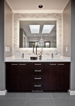 more light in bathroom