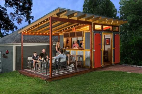 Shed living space