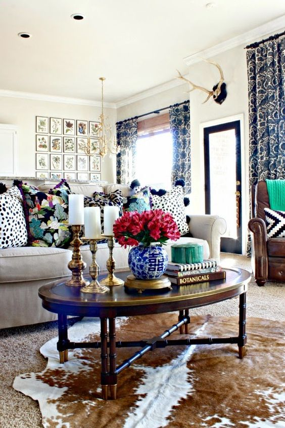 Decorative Matching Living Room: Home Decor + Matching Different Styles -Decorated Life