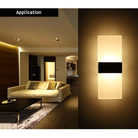 wall lamp for rental property
