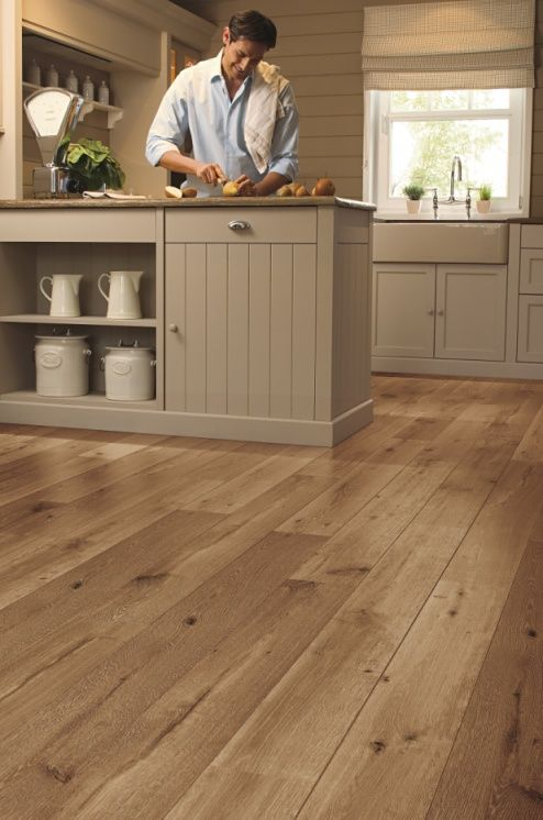 Top inspiring flooring trends for your home decorated life for Quickstep kitchen flooring