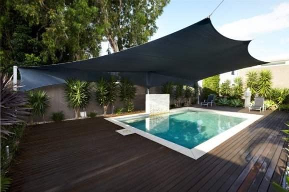 shade sail for backyard