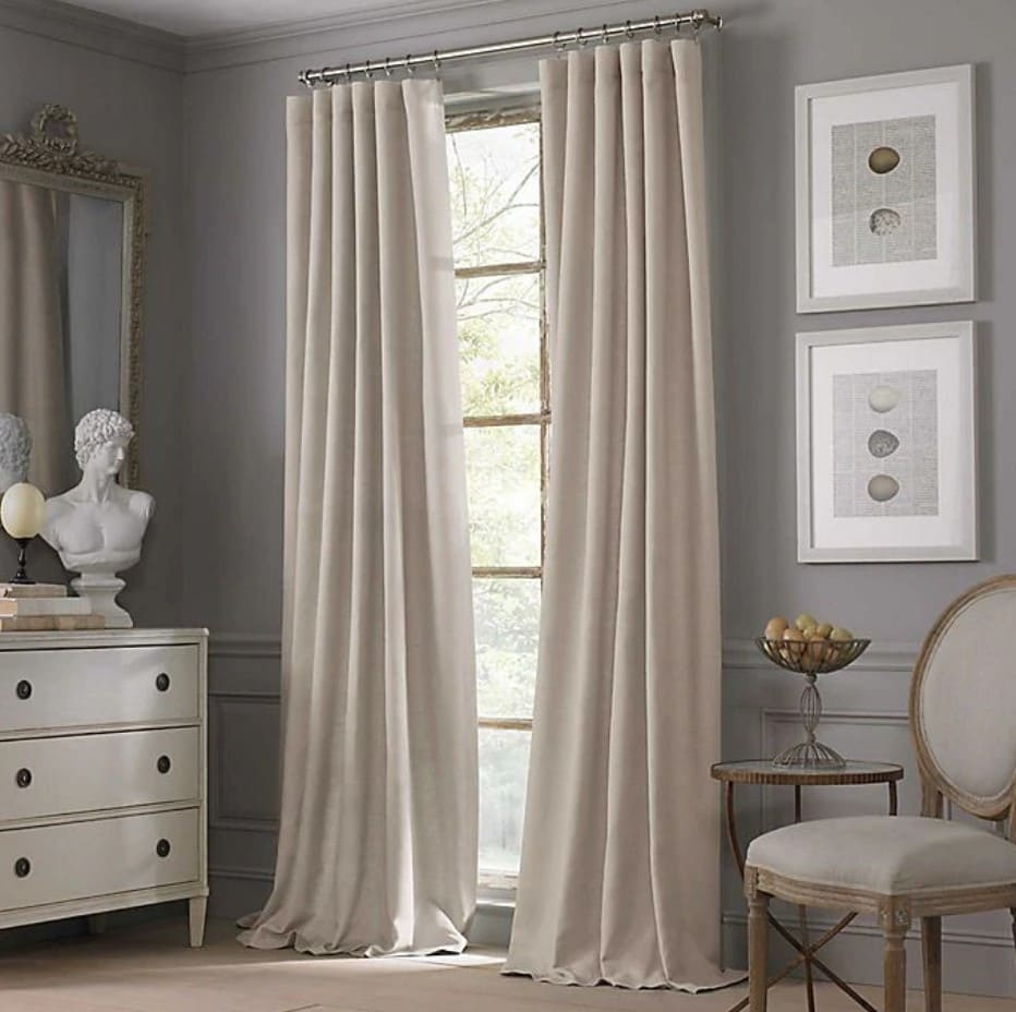 what curtains go with grey walls 20