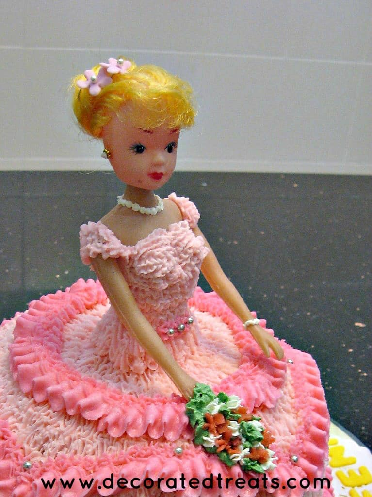 Order a barbie cake online from yummycake and select your best barbie dolls cake design as per your budget and gathering. Doll Cake Design In Pink A Decorating Tutorial Decorated Treats