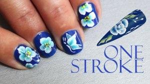 uñas decoradas stroke
