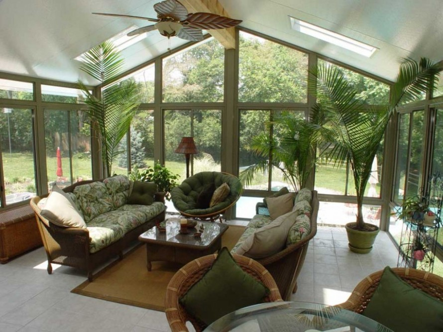 Ideas To Bring Modern Sunroom To Next Level