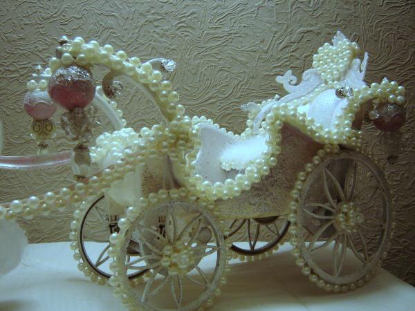 Princess Carriage And Coach Centerpieces