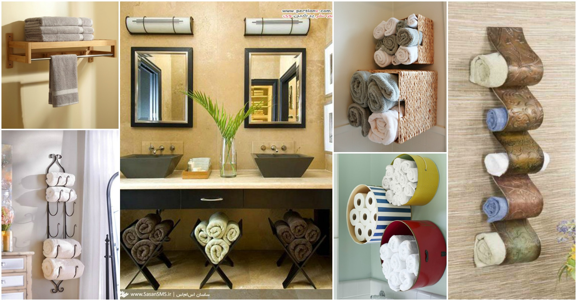 how to organize my kitchen wall tile designs 15+ fantastic bathroom towel storage ideas