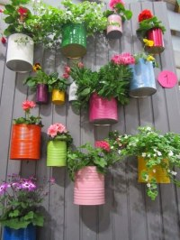 13+ DIY Tin Cans Into Adorable Decor Ideas