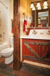 15+ DIY Rustic Bathroom Decor Ideas