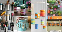 Decorating With Tin Cans | Decoratingspecial.com