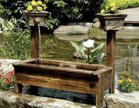 15+ Fantastic Wooden Garden Fountains