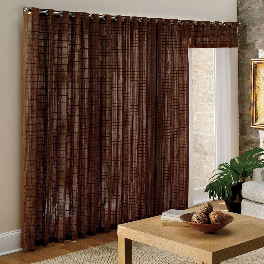 Add Cool Bamboo Curtains to Deck up Your Living Space