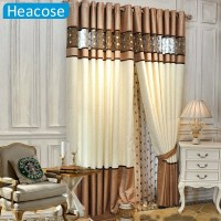 DHL shipping 3M Simple gold leather window jacquard ...