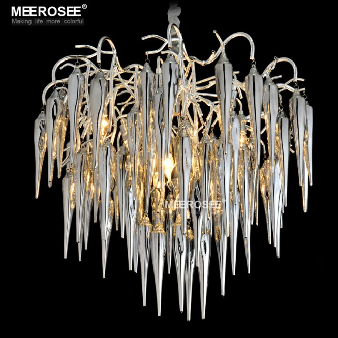 New Design Font B Chandelier Light Fixture Modern Dolphin Hanging Res Lamp For Restaurant