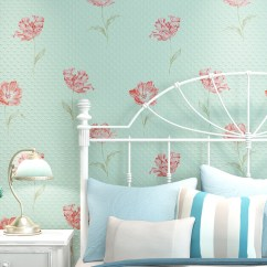 Wallpaper Living Room Wall Grey Leather Set Norwich Eco 3d Pastoral Wallpapers Non Woven Simple Bedroom D